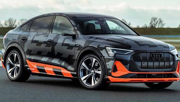 零百加速4.5秒,奥迪发布e-tron S Sportback原型车官图