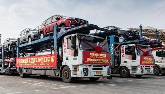 全球化布局,首批宝骏530换标雪佛兰出口中东市场